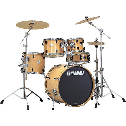 yamaha stage custom nouveau 5 piece fusion drum set