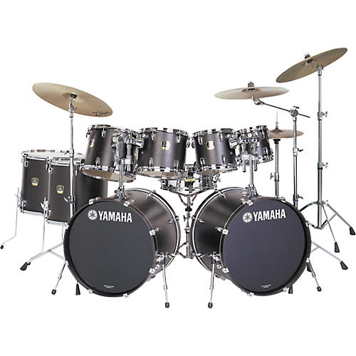 Yamaha Stage Custom Standard 9-piece Double Bass Drum Set