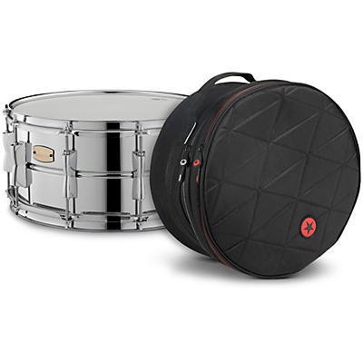 Yamaha Stage Custom Steel Snare with Road Runner Bag