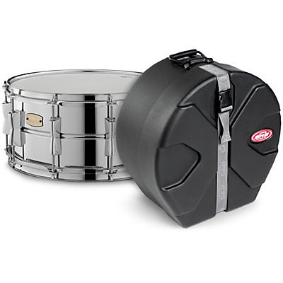Yamaha Stage Custom Steel Snare with SKB Case