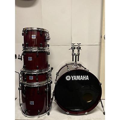 Yamaha Stage Custom With Nouveau Lugs Drum Kit