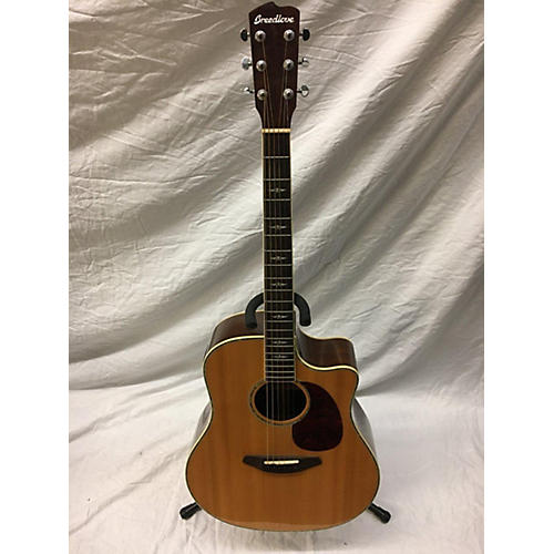 Stage Dreadnought Acoustic Electric Guitar