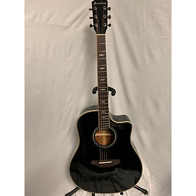 Breedlove Stage Dreadnought Black Magic Acoustic Electric Guitar