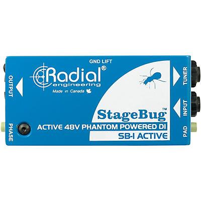 Radial Engineering StageBug SB-1 Compact Active Direct Box