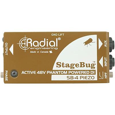 Radial Engineering StageBug SB-4 Compact Active Piezo DI