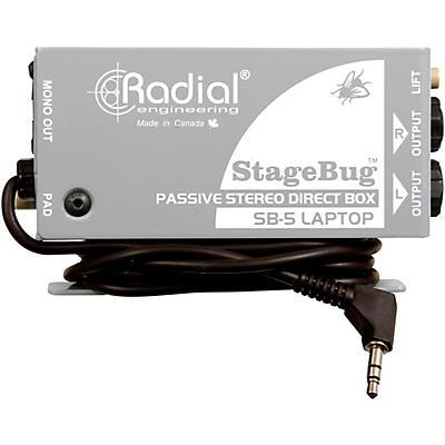 Radial Engineering StageBug SB-5 Stereo Laptop Direct Box