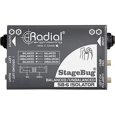 Radial Engineering StageBug SB-6 Passive Stereo Line Isolator