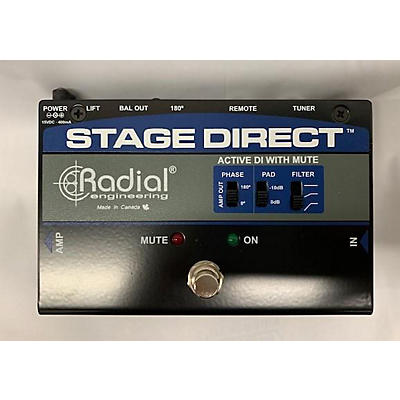 Radial Engineering StageDirect Muting DI Box Direct Box