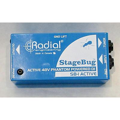 Radial Engineering Stagebug Direct Box