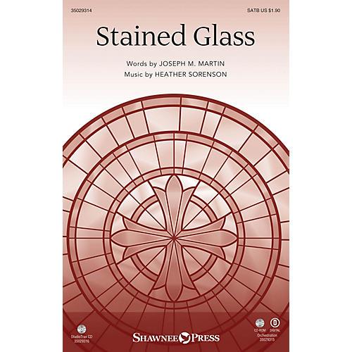 Shawnee Press Stained Glass (StudioTrax CD) Studiotrax CD Composed by Joseph M. Martin
