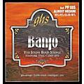 GHS Stainless Steel 5-String Banjo Strings - Almost Medium thumbnail