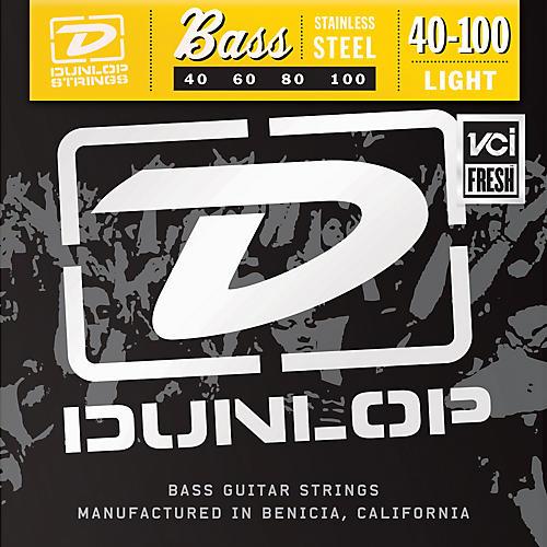 Dunlop Stainless Steel Light Bass Strings