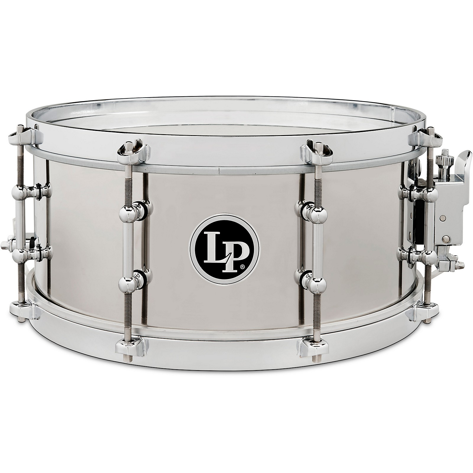 LP Stainless Steel Salsa Snare Drum