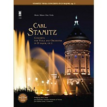 Music Minus One Stamitz - Viola Concerto in D Major, Op. 1 (for Viola) Music Minus One Series Softcover with CD