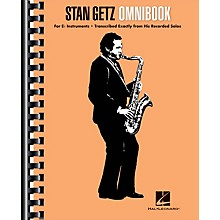 Hal Leonard Stan Getz - Omnibook For E-flat Instruments