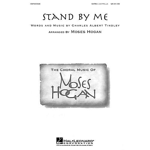 Hal Leonard Stand By Me SATB a cappella arranged by Moses Hogan