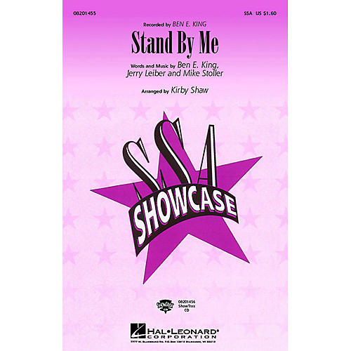 Hal Leonard Stand by Me ShowTrax CD by Ben E. King Arranged by Kirby Shaw