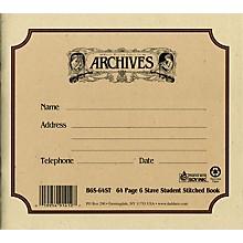 Archives Standard Bound Manuscript Paper