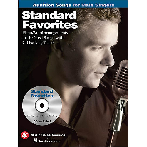 Hal Leonard Standard Favorites - Audition Songs for Male Singers Book/CD