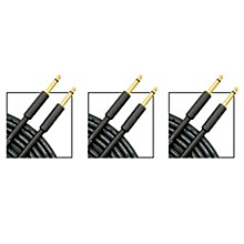 Musician's Gear Standard Instrument Cable - 20 ft. - 3 Pack