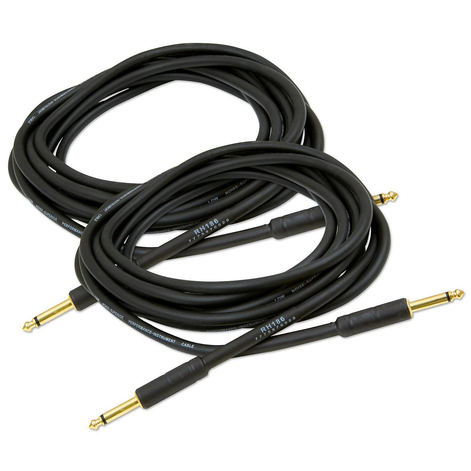 Musician's Gear Standard Instrument Cable 20 Ft. 2-Pack