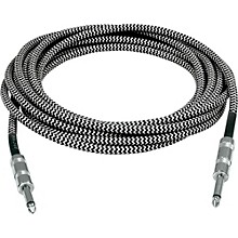 Musician's Gear Standard Instrument Cable Silver Tweed