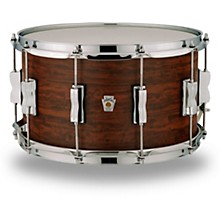 Ludwig Standard Maple Snare Drum with Aged Chestnut Veneer