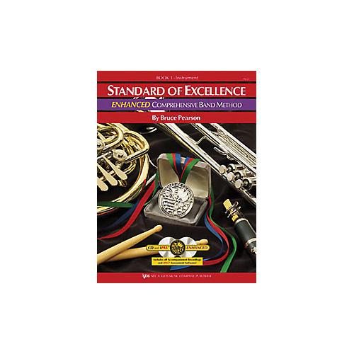 KJOS Standard Of Excellence Book 1 Enhanced Baritone Tc
