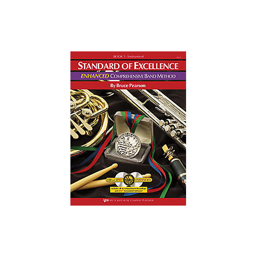 KJOS Standard Of Excellence Book 1 Enhanced Clarinet