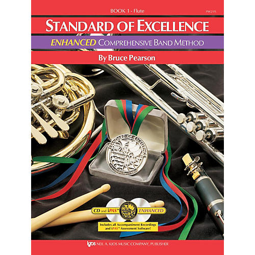 KJOS Standard Of Excellence Book 1 Enhanced Flute Condition 1 - Mint