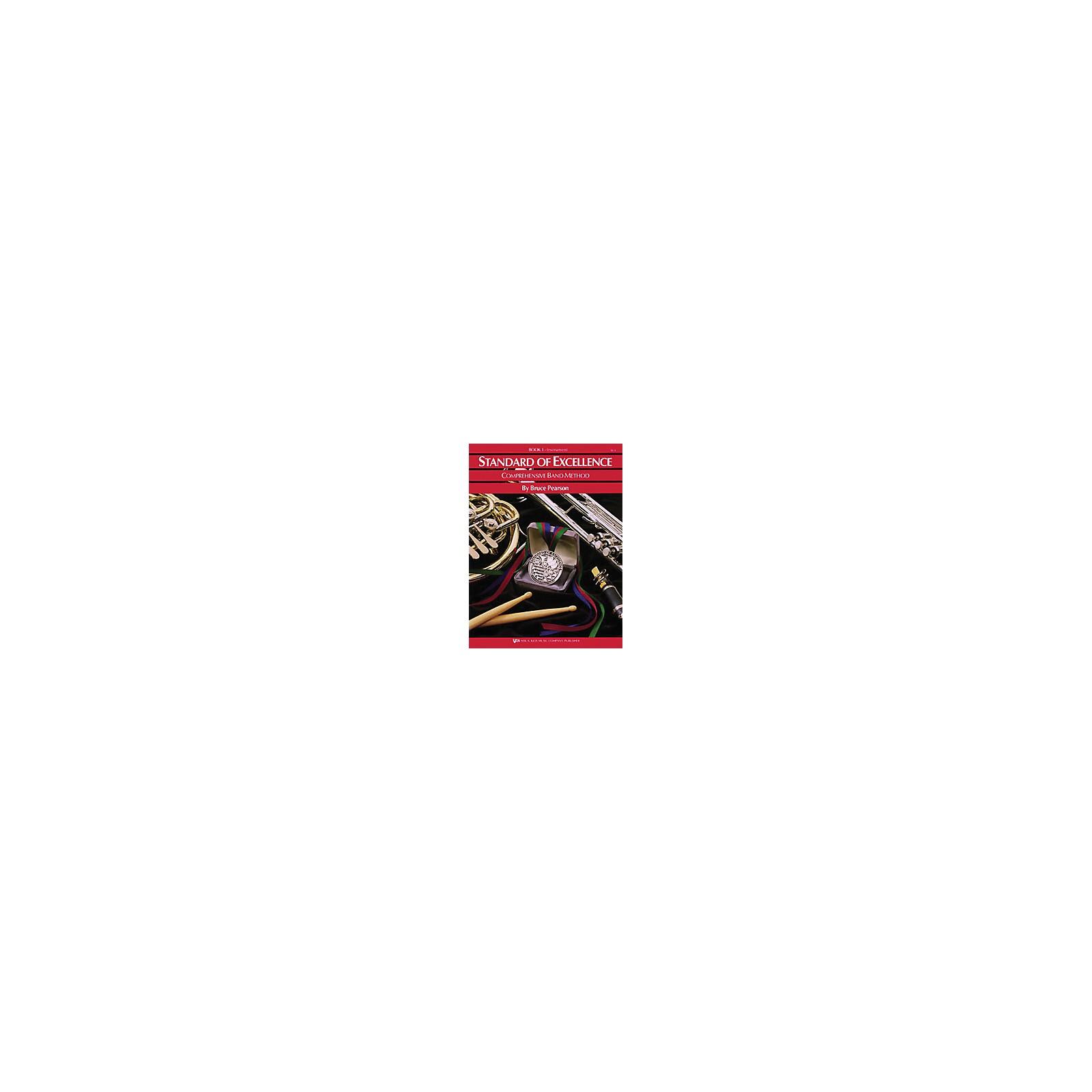 KJOS Standard Of Excellence Book 1 Trombone