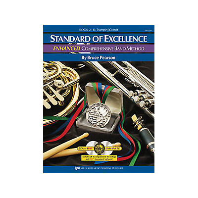 KJOS Standard Of Excellence Book 2 Enhanced Trumpet