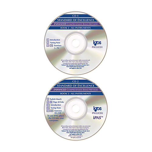KJOS Standard Of Excellence Book 2 Enhancer Kit