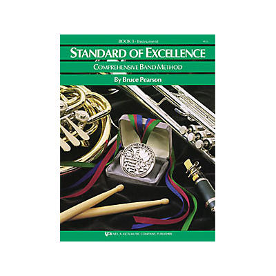 KJOS Standard Of Excellence Book 3 Drums/Mallet Percussion