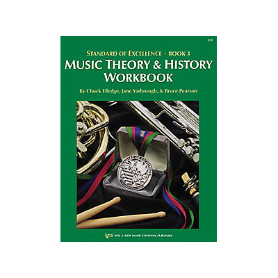 KJOS Standard Of Excellence Book 3 Theory & History Student Edition