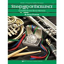 KJOS Standard Of Excellence Book 3 Timpani/Aux Perc