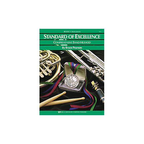 KJOS Standard Of Excellence Book 3 Trombone