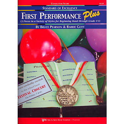 KJOS Standard Of Excellence First Performance Plus-COND SCORE