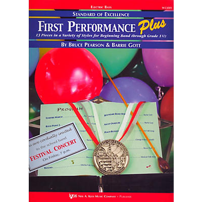 KJOS Standard Of Excellence First Performance Plus-ELECTRIC BASS