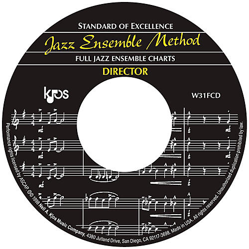 KJOS Standard Of Excellence Jazz Ensemble Book 1, CD/SCORE