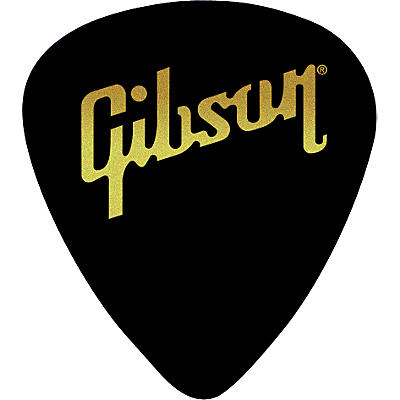 Gibson Standard Pick Pack 72 Pcs., Black