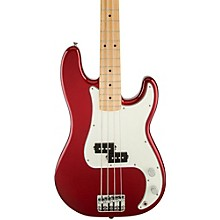 Standard Precision Bass Guitar Candy Apple Red Gloss Maple Fretboard