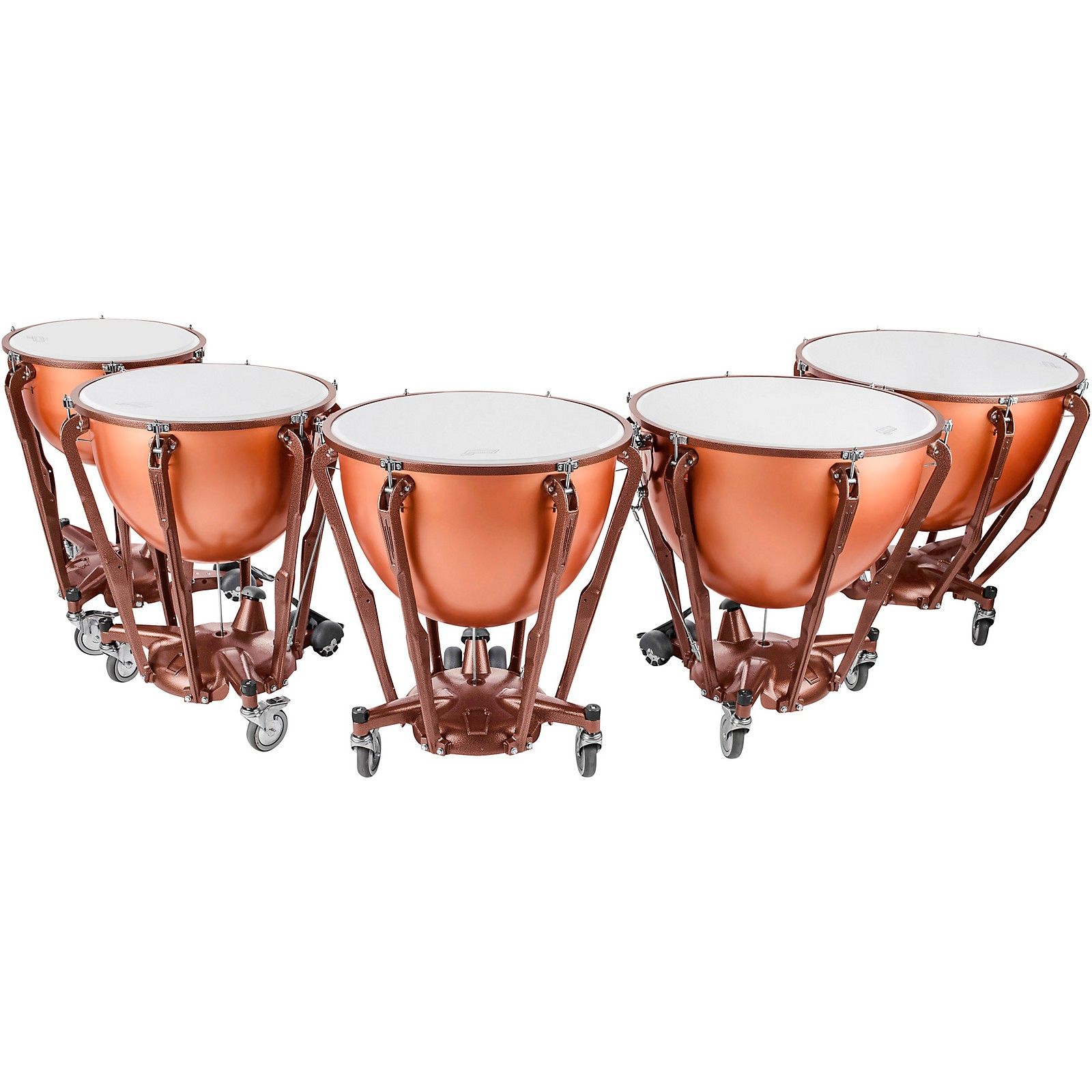 Ludwig Standard Series Fiberglass Timpani Set with Gauge