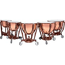 Ludwig Standard Series Polished Copper Timpani Set with Gauge