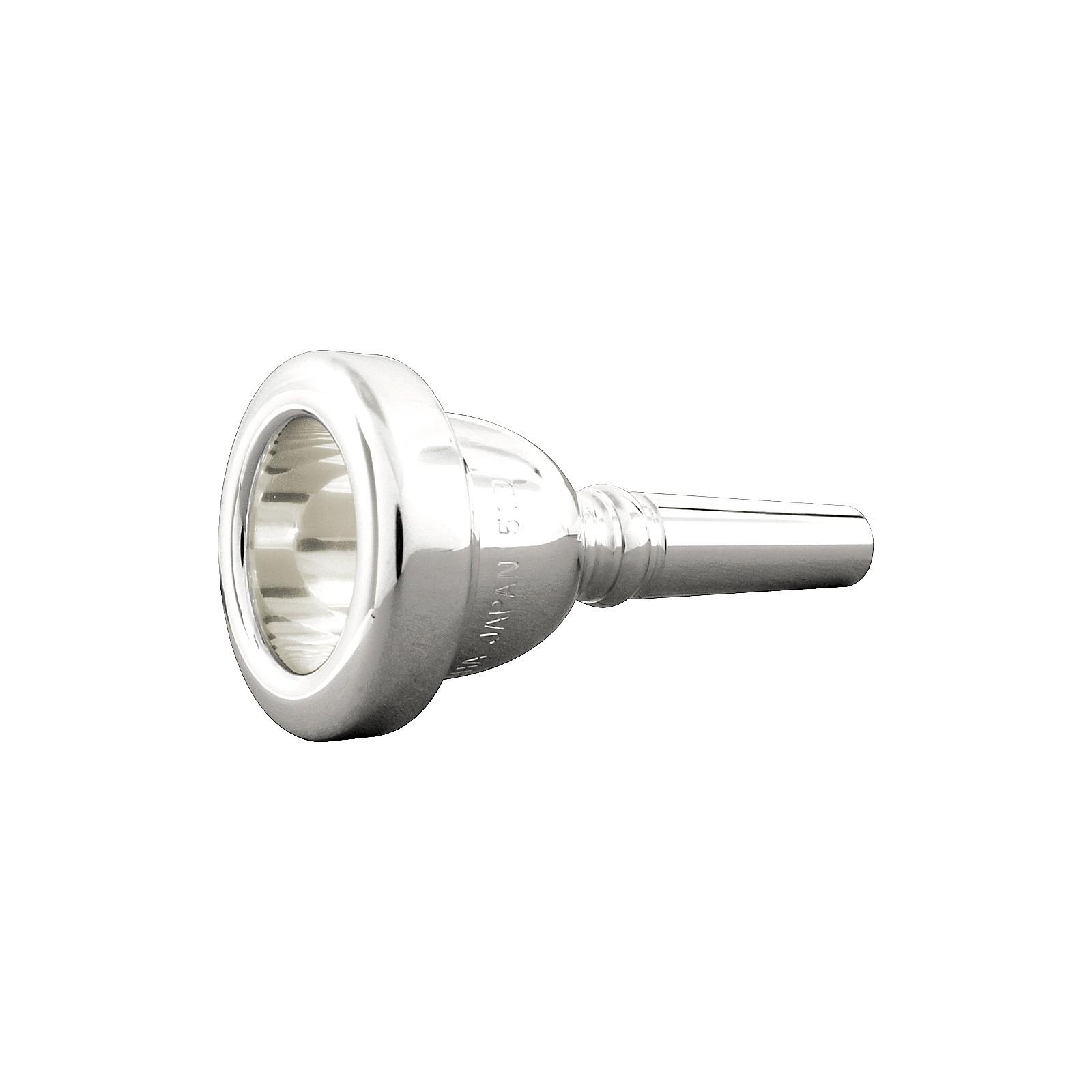 Yamaha Standard Series Small Shank Trombone Mouthpiece in Silver