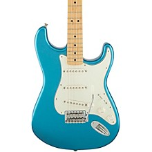 Standard Stratocaster Electric Guitar with Maple Fretboard Lake Placid Blue Gloss Maple Fretboard