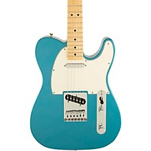 Standard Telecaster Electric Guitar Lake Placid Blue Gloss Maple Fretboard