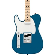 Standard Telecaster Left Handed  Electric Guitar Lake Placid Blue Gloss Maple Fretboard