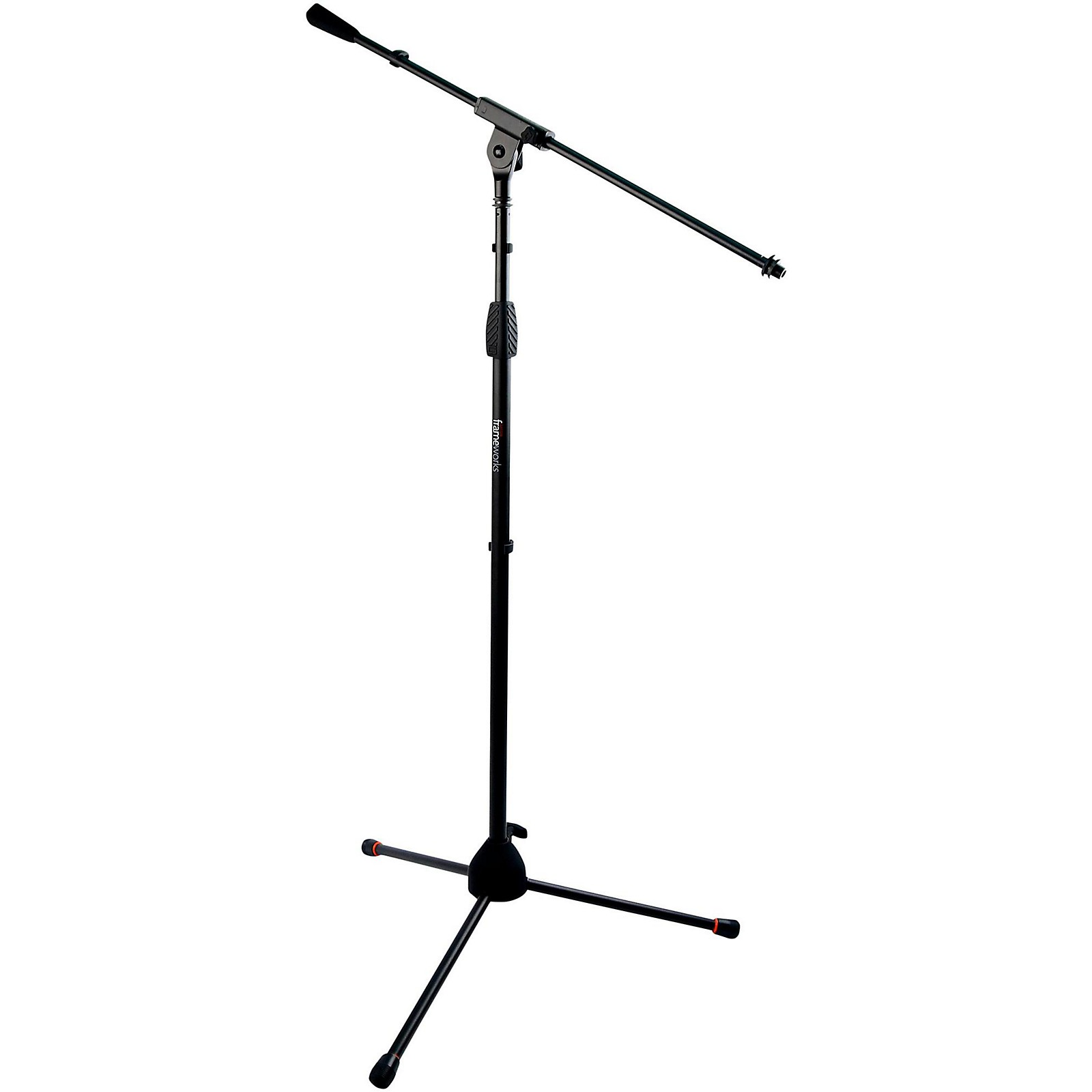 Gator Standard Tripod Mic Stand with Single Section Boom