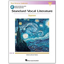 Hal Leonard Standard Vocal Literature - An Introduction To Repertriore for Soprano (Book/Online Audio)